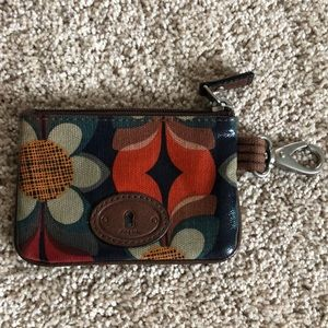 Fossil keychain wallet